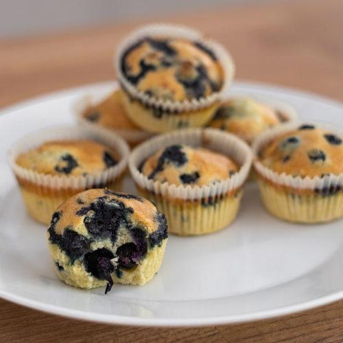 Przepis muffiny dla dzieci bez glutenu