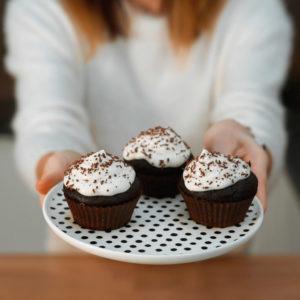 Przepis na muffiny brownie