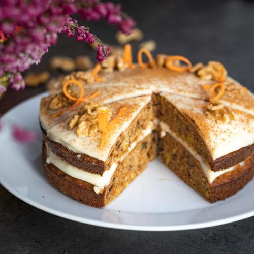 Przepis na ciasto marchewkowe bez glutenu