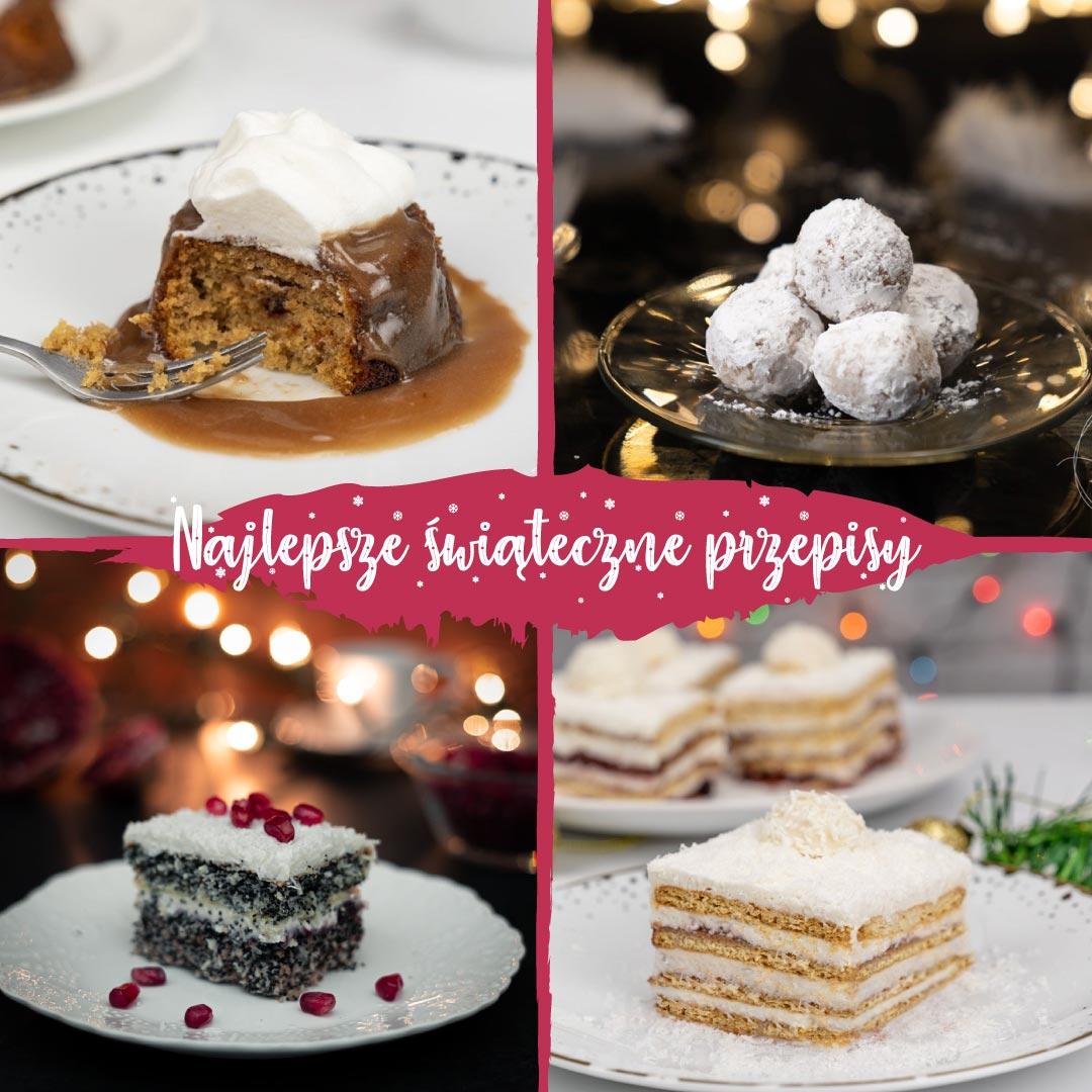 Przepisy na świąteczne ciasta i desery