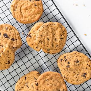 Przepis na ciastka orzechowe z ciecierzycy bez glutenu